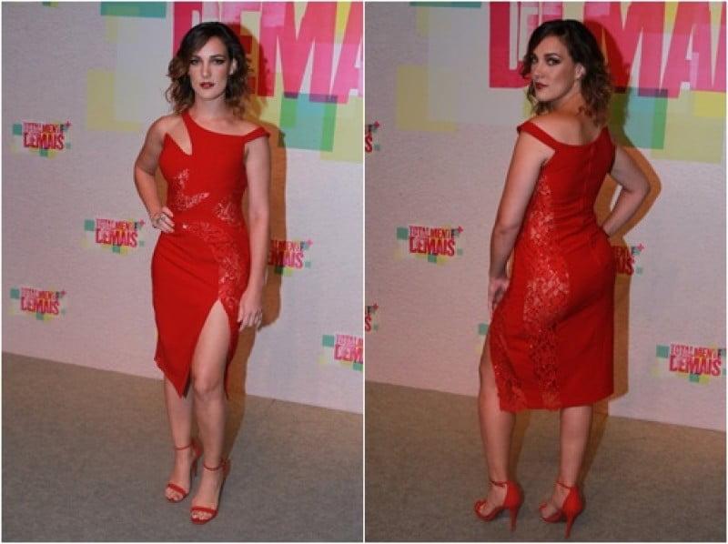 Atriz da Globo surpreende ao usar vestido sem calcinha em festa