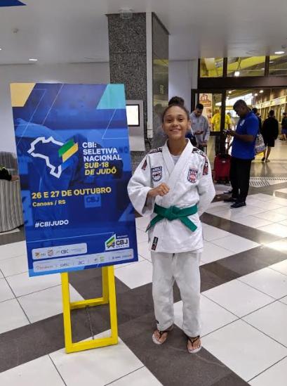 Prefeitura apoia serra-talhadense convocada para a Seleção Brasileira de Judô