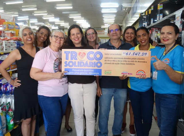 Pernambuco: Hospital de Câncer recebe doação do Troco Solidário