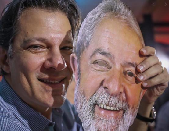 Lula já descarta candidatura de Haddad em São Paulo