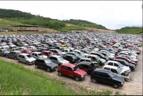 Serra Talhada: Mais de 500 veículos serão leiloados pelo Detran-PE